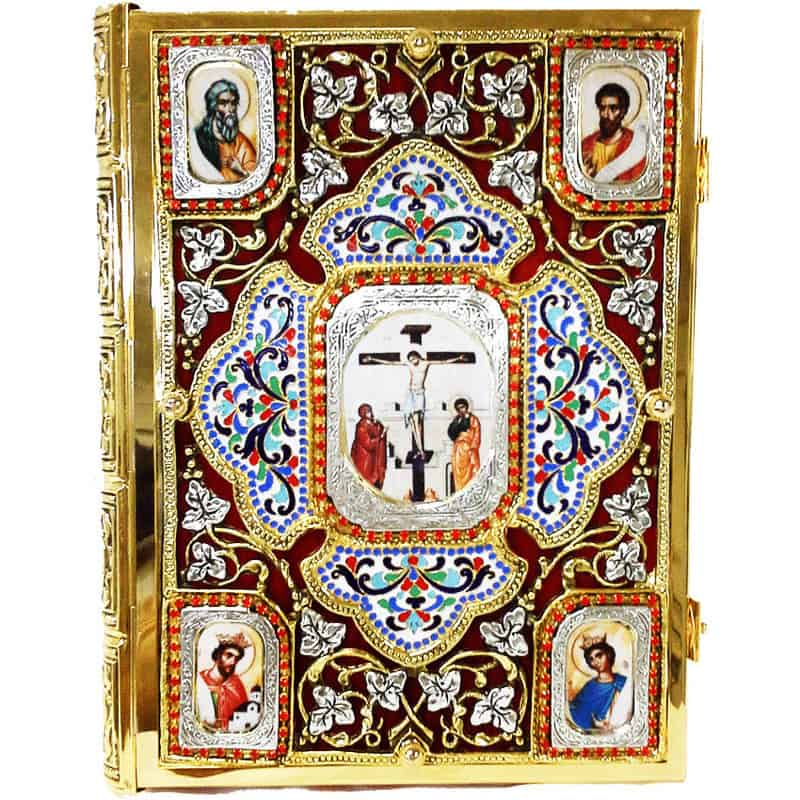 Gospel enamel with velvet