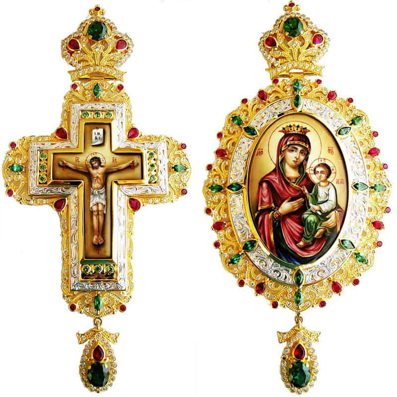 Bishop's Set (Pectoral Cross – Encolpio)