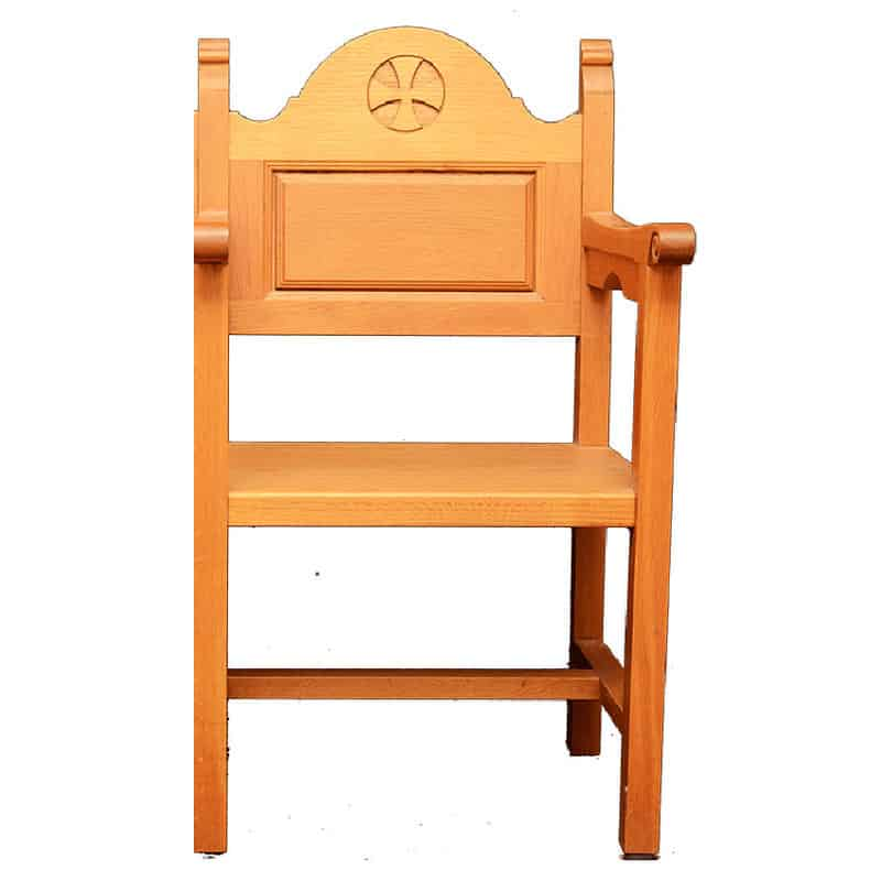 Ecclesiastical chair