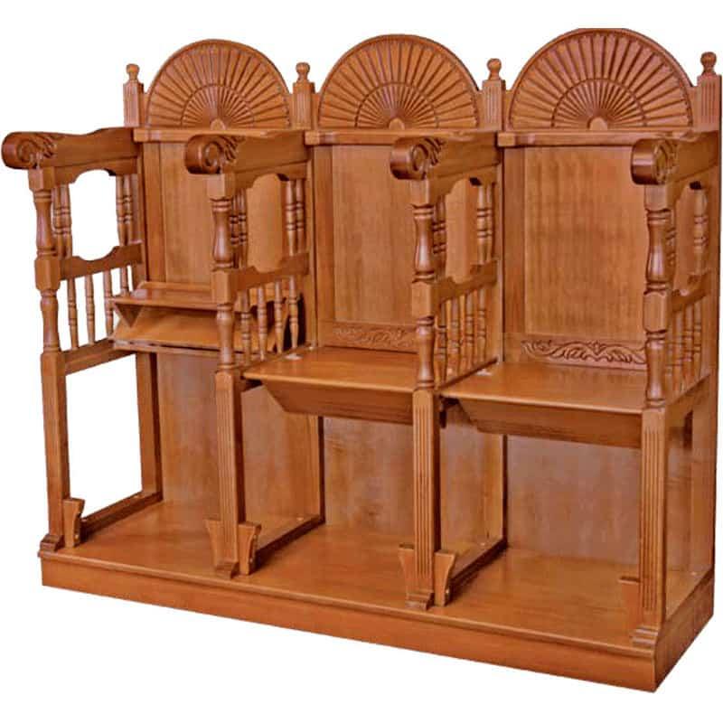 Ecclesiastical pew stall Athonite