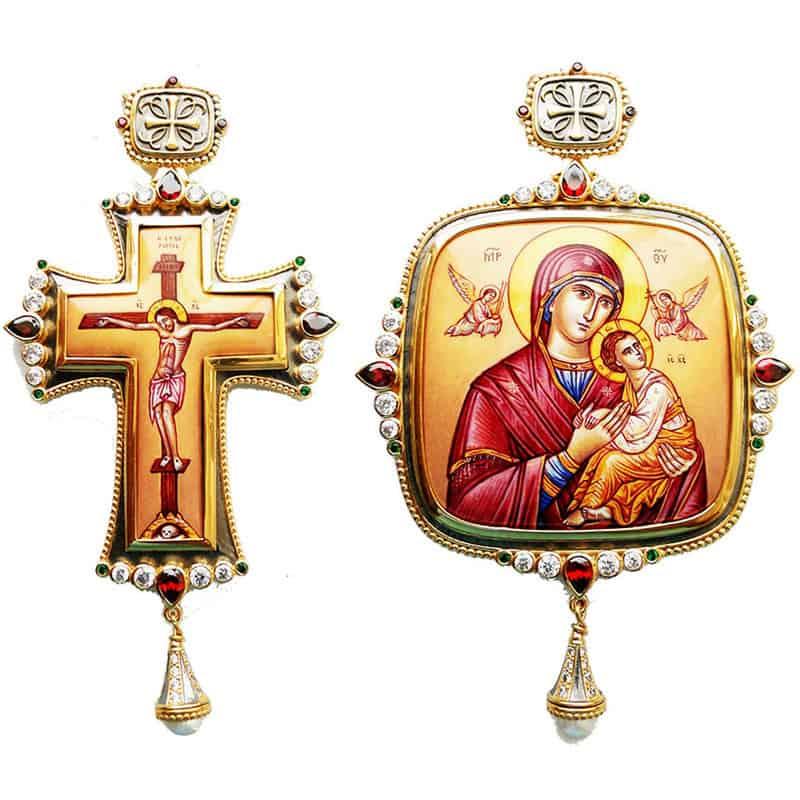 Bishop's Set (Pectoral Cross – Encolpio)