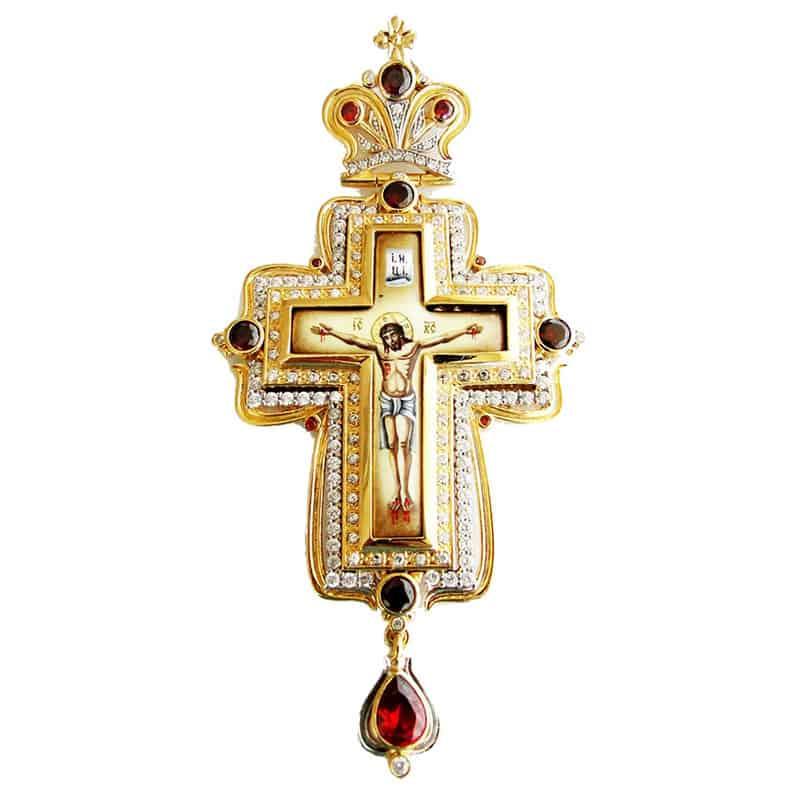 Pectoral Cross Silver or Bronze