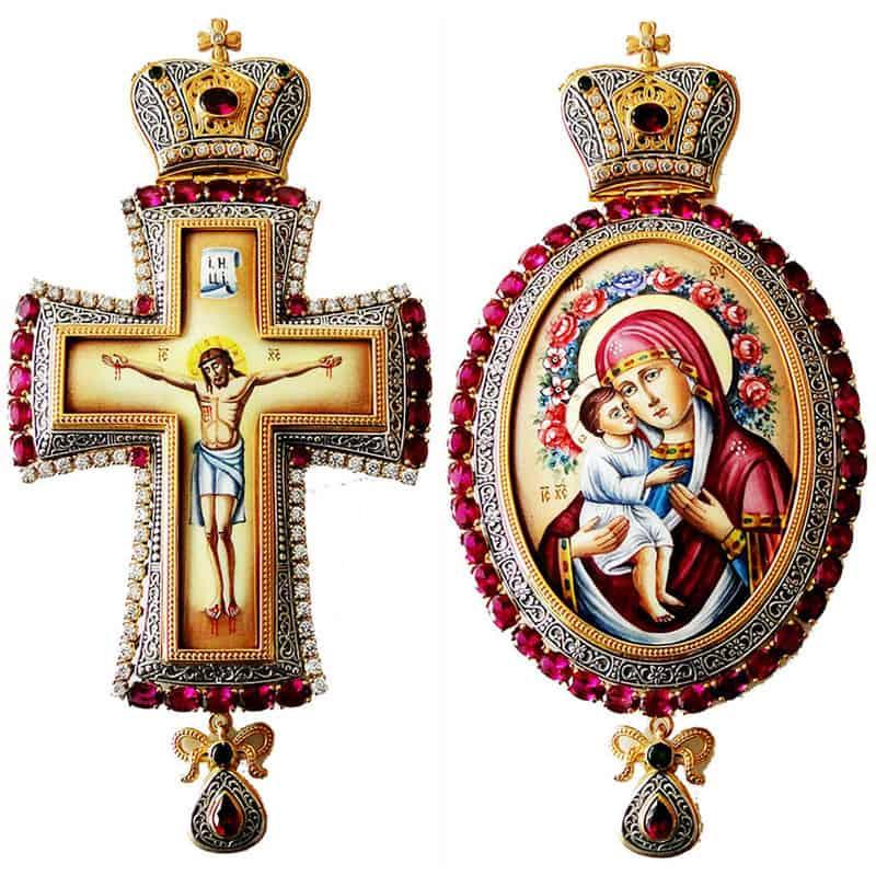 Bishop's Set Pectoral Cross – Encolpio