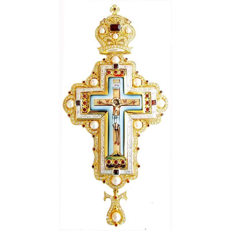 Наперсный Крест Серебряный