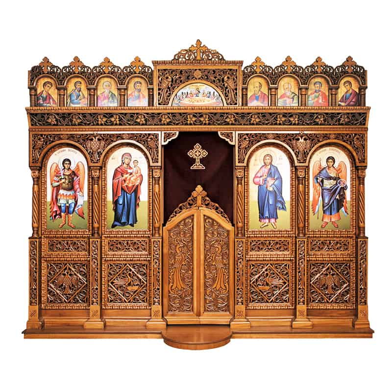 Iconostasis wood carved