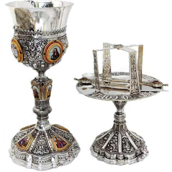 Silver Chalice set