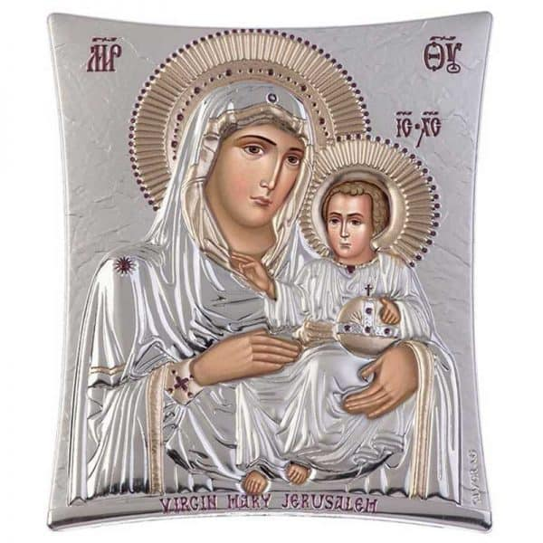 Icon Virgin Mary of Jerusalem