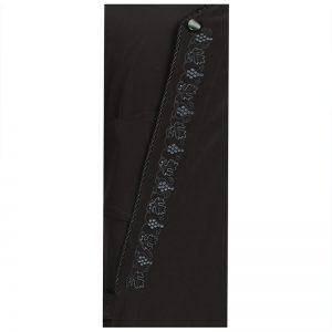 Ζωστικό Κρητικό Μαύρο με κέντημα άμπελος 1001 23