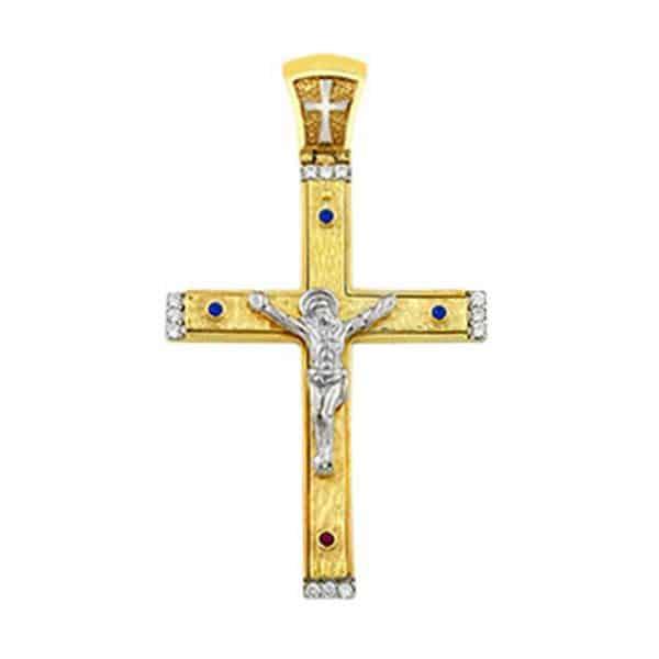 Σταυρός Ασημένιος Μικρός SP13 2
