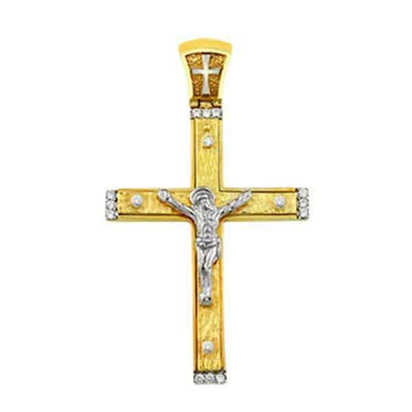 Σταυρός Ασημένιος Μικρός SP13 3