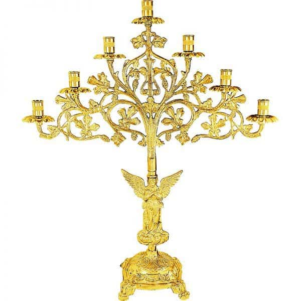 Lamp with seven candles