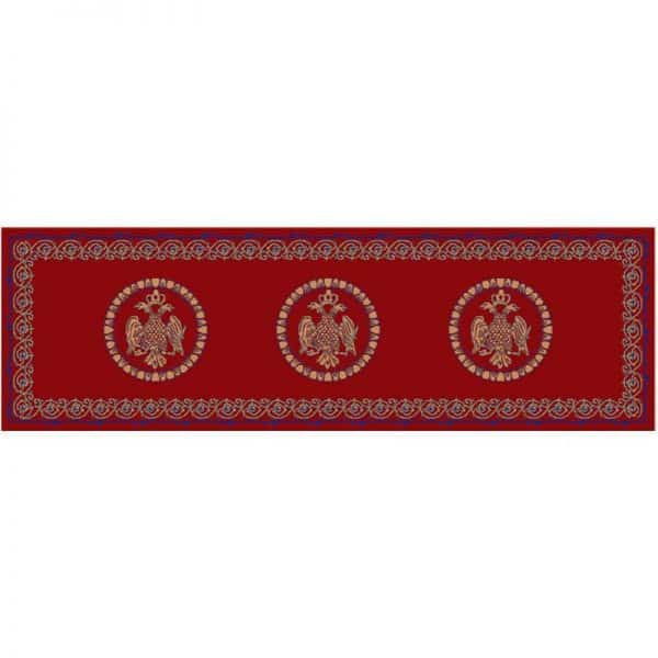 Rectangular Carpet with Double-Headed Eagles