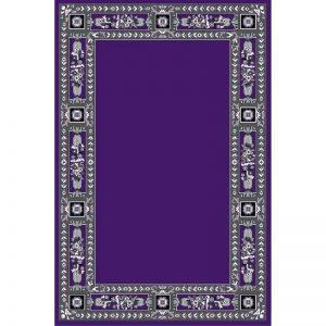 Rectangular Carpet with decoration