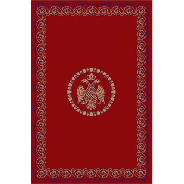 Rectangular Carpet with Double-Headed Eagle