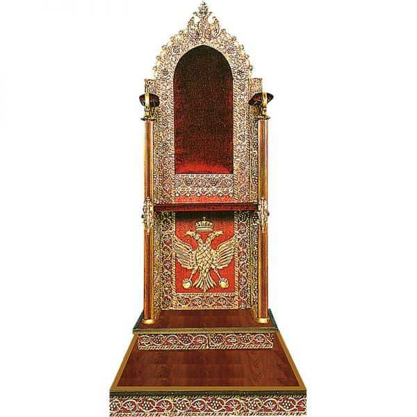 Aluminum Bishop's throne