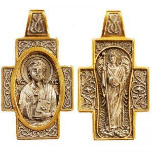 Σταυρός Ιησούς Χριστός και Αρχάγγελος Μιχαήλ