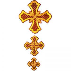 Ιερατικό Σετ Σταυρών χειροποίητο
