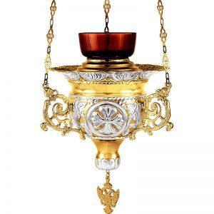 Καντήλι Βυζαντινό με σμάλτο κρεμαστό