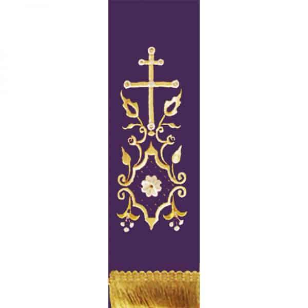 Ευαγγελίου Σατέν χρυσοκέντητη 18317 61