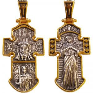 Cross Jesus Christ - Holy Virgin Mary