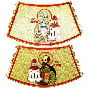 Επιμάνικα με τους Αποστόλους Πέτρο και Παύλο