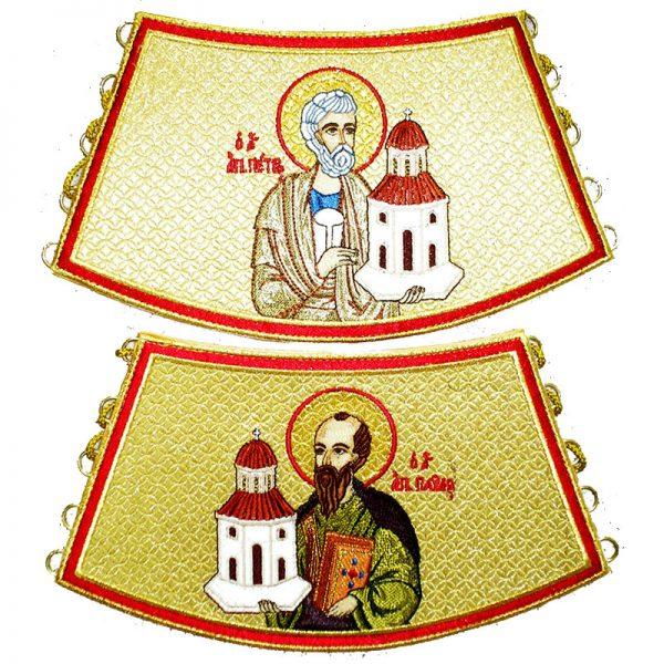 Поручи с образом Святых Апостолов Петра и Павла