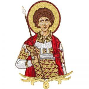 Κεντητή Παράσταση Άγιος Γεώργιος