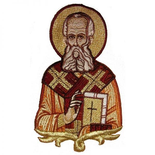 Κεντητή Παράσταση Άγιος Γρηγόριος