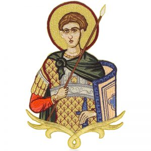 Κεντητή Παράσταση Άγιος Δημήτριος