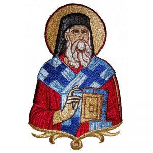 Κεντητή Παράσταση Άγιος Νεκτάριος