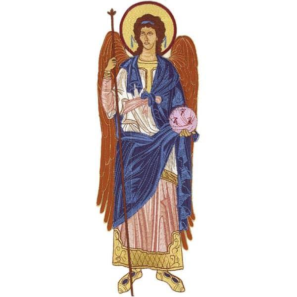 Κεντητή Παράσταση Αρχάγγελος Γαβριήλ