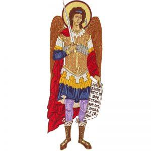 Κεντητή Παράσταση Αρχάγγελος Μιχαήλ