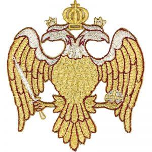Κεντητή Παράσταση Δικέφαλος Αετός