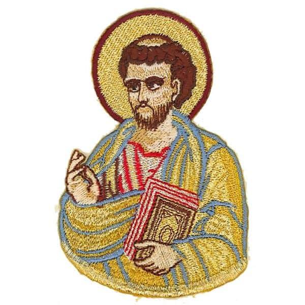 Κεντητή Παράσταση Ευαγγελιστής Λουκάς