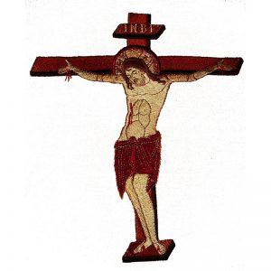 Κεντητή Παράσταση Η Σταύρωση Του Χριστού