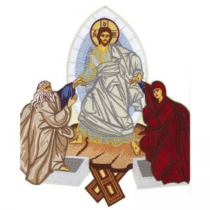 Κεντητή Παράσταση Ανάσταση Χριστού