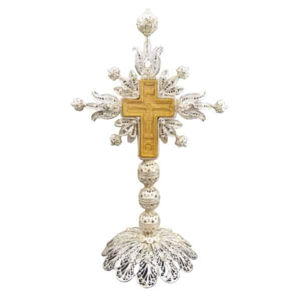 Silver Sanctification Cross