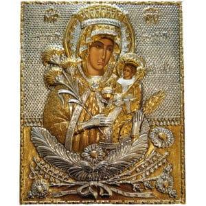 Icon Virgin Mary Rodon Amaranton
