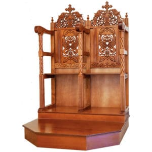Analogion - Chanters pews with pedestal