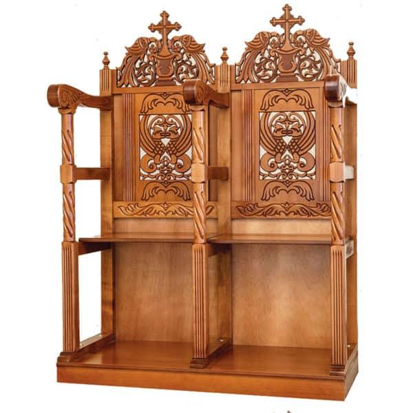 Ecclesiastical pew stall