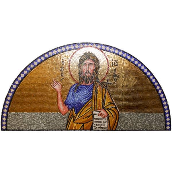 Мозаичное панно c изображением Святого Иоанна Предтечи