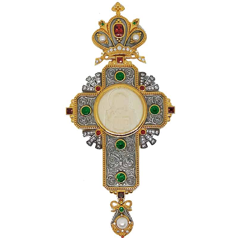 Silver Pectoral Cross