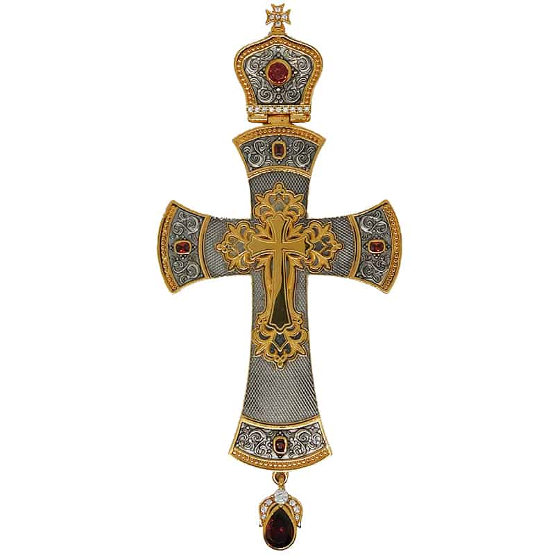 Silver Pectoral Cross
