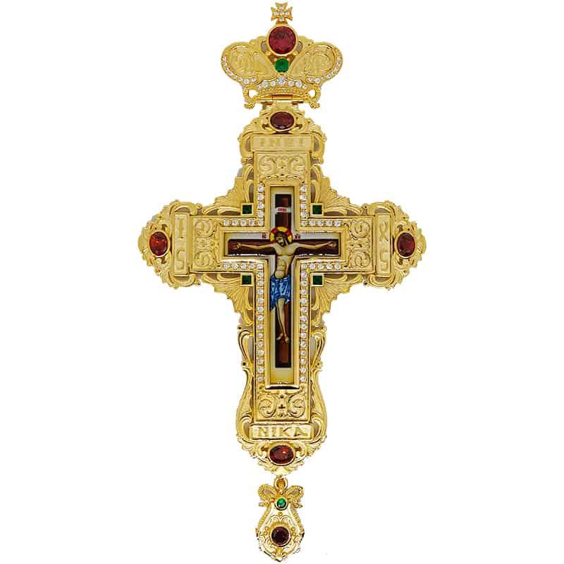 Brass Pectoral Cross