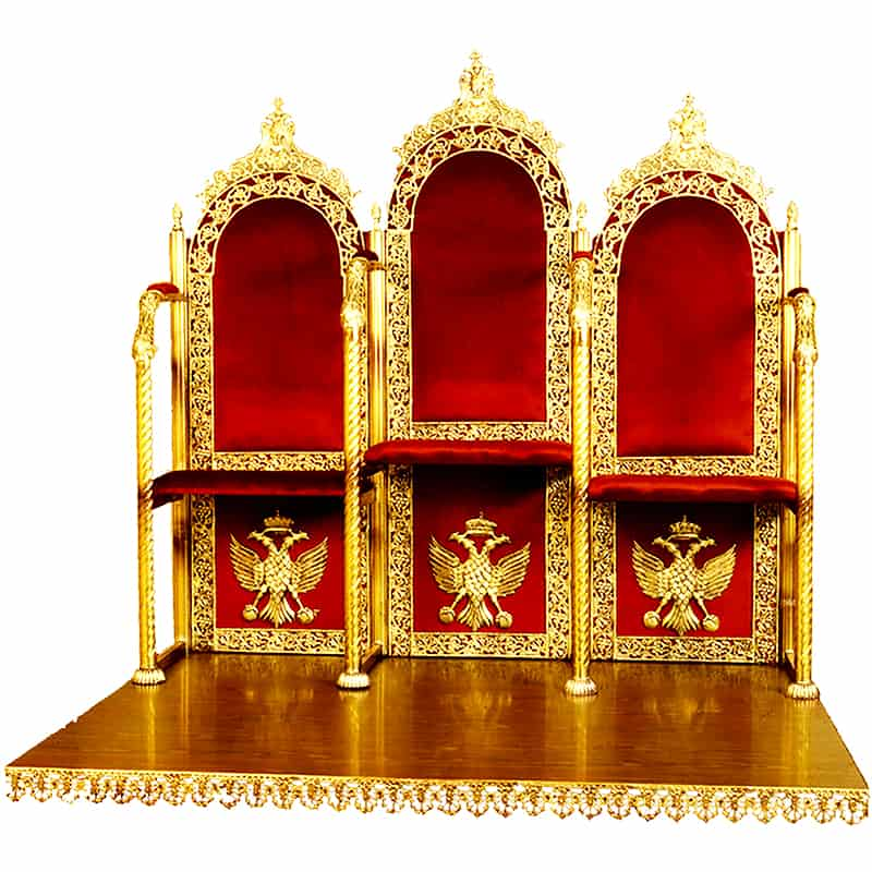 Analogion-Chanters pews with pedestal