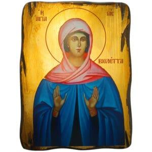 Икона Святая Ия (Виолетта)