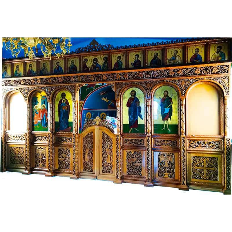 Iconostasis wood carved