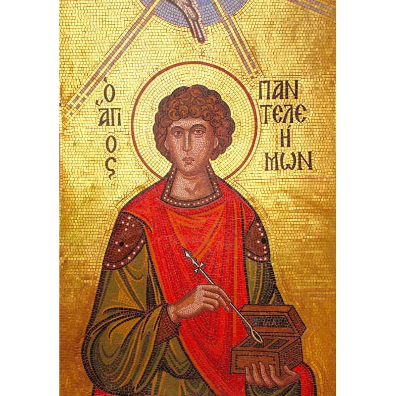 Mosaic Saint Panteleimon