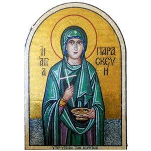 Mosaic Saint Paraskevi
