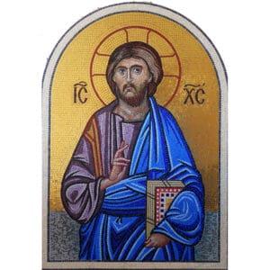 Mosaic Jesus Christ